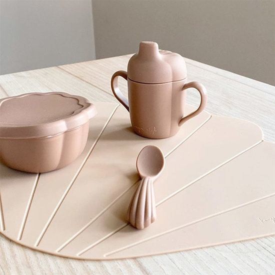 Konges Slojd Konges Slojd silicone placemat Clam Shell