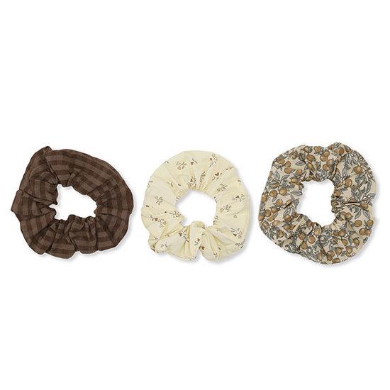 Konges Slojd Konges Slojd scrunchies set van 3 Multi - Small