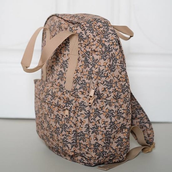 Konges Slojd Konges Slojd Loma backpack Junior Orangery Beige