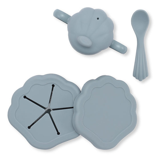 Konges Slojd Konges Slojd silicone clam set - Light Blue