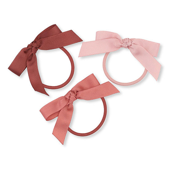 Konges Slojd Konges Slojd hair elastics Bow - Ray of Light