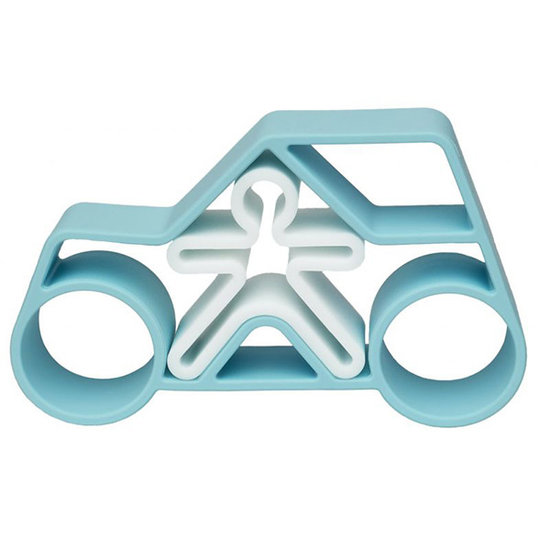 Dëna Dëna Spielset Car + Kid Blue Pastel 2-Teilig