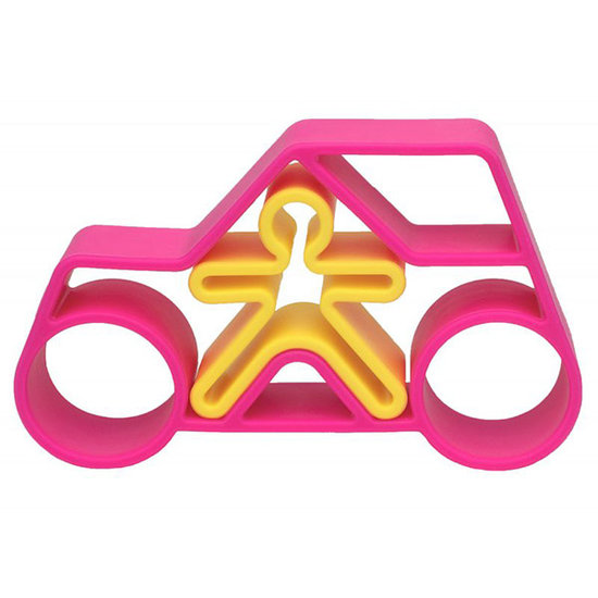 Dëna Dëna playset Car + Kid Pink Neon 2-pieces