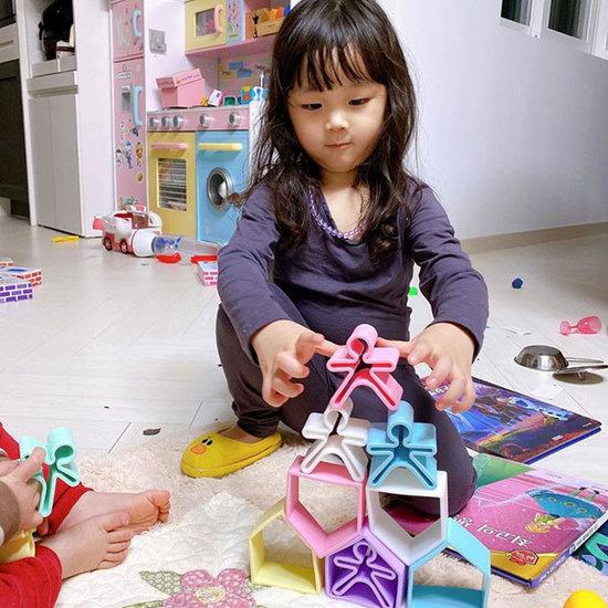 Dëna Dëna speelset Kids + House Pastel 12-delig