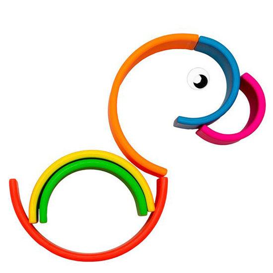 Dëna Dëna speelgoed regenboog Neon 6-delig