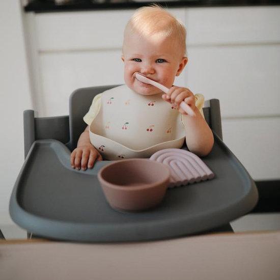 Mushie Mushie feeding spoons Dried Thyme - Natural