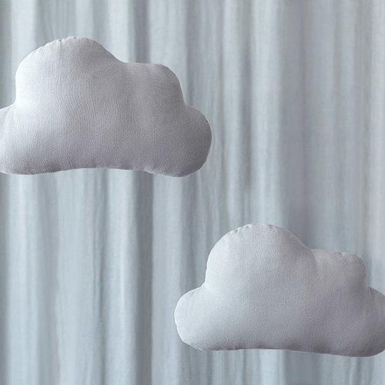 Nobodinoz tipi en accessoires Nobodinoz Cloud kussen Riviera Blue