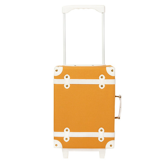 Olli Ella Olli Ella See-Ya reiskoffer - trolley apricot