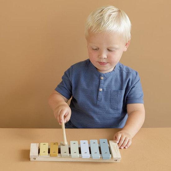 Little Dutch Little Dutch xylophone blue - musical instrument
