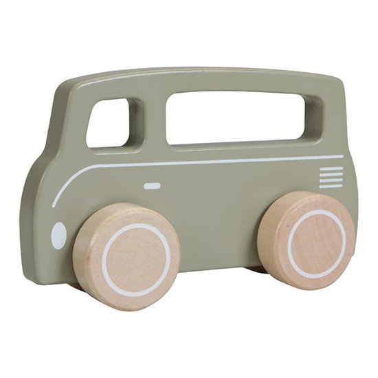 Little Dutch Little Dutch toy car Van olive