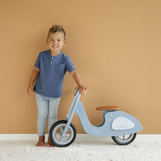 Little Dutch Little Dutch loopfiets scooter blue