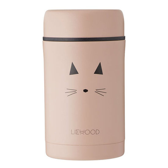 Liewood Liewood thermosbeker Bernard Cat rose