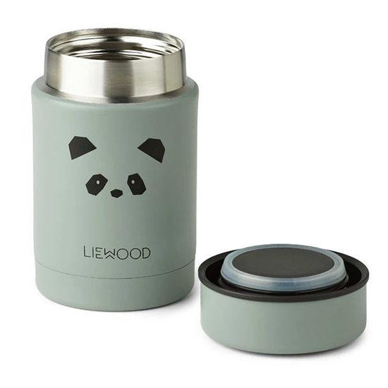 Liewood Liewood Nadja food jar Panda peppermint