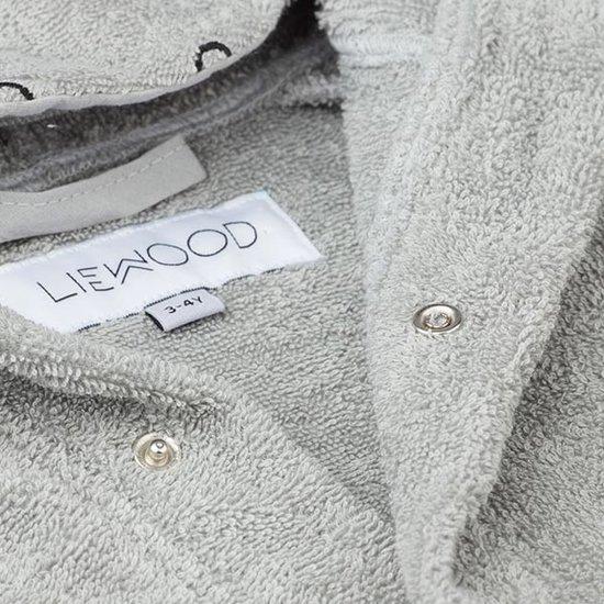 Liewood Bathrobe Hippo Dove blue - Liewood