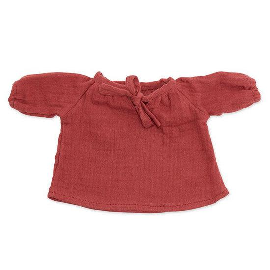 By Astrup Doll clothes blouse Bordeaux - By Astrup