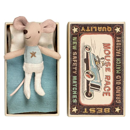 Maileg Maileg little brother mouse in box - Star