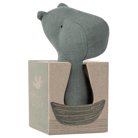 Maileg Maileg Noah's Friends rattle hippo