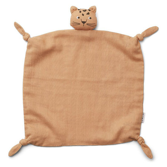 Liewood Baby comforter Leopard apricot - Liewood