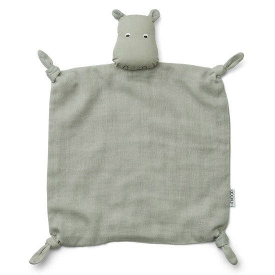 Liewood Baby comforter Hippo dove blue - Liewood