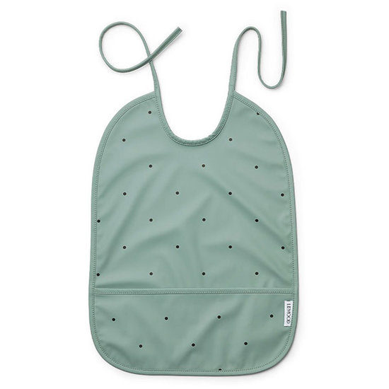 Liewood Baby bib Lai Classic dot peppermint - Liewood