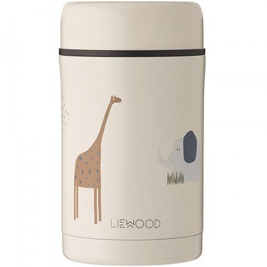 Liewood Liewood Nadja food jar Safari sandy mix