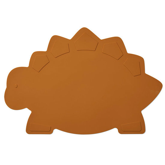 Liewood Liewood Tracy placemat Dino mustard