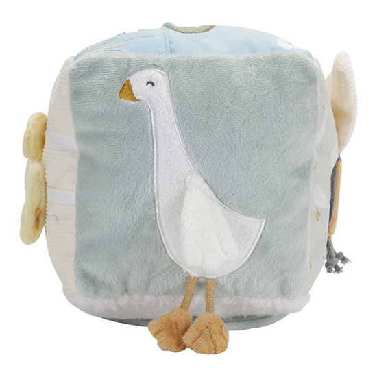 Little Dutch Activiteitenkubus Soft Little Goose - Little Dutch
