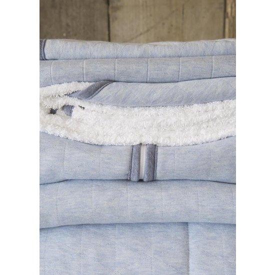 Little Dutch Little Dutch slaapzak winter 70 cm - Blue Melange