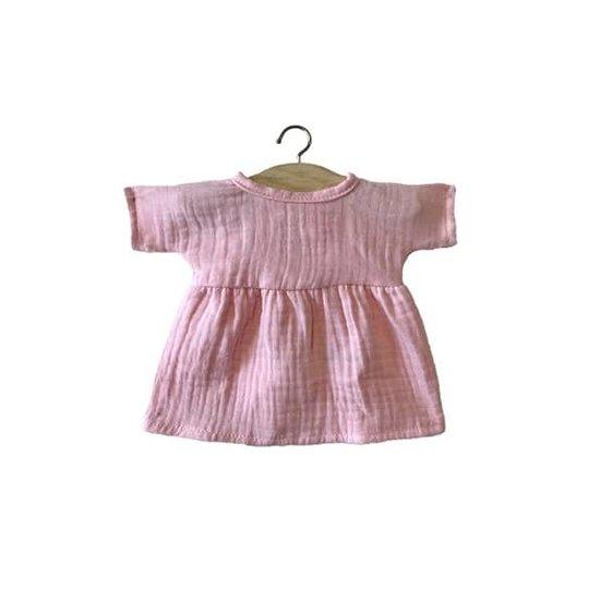 Minikane Poppenkleertjes jurk Faustine roze - Minikane