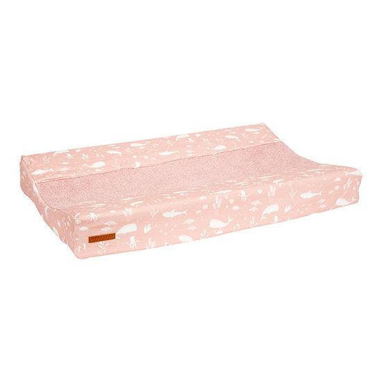 Little Dutch Little Dutch aankleedkussenhoes - Ocean Pink