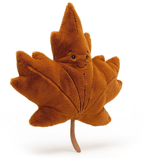 Jellycat Jellycat knuffel Esdoornblad Woodland Maple Leaf