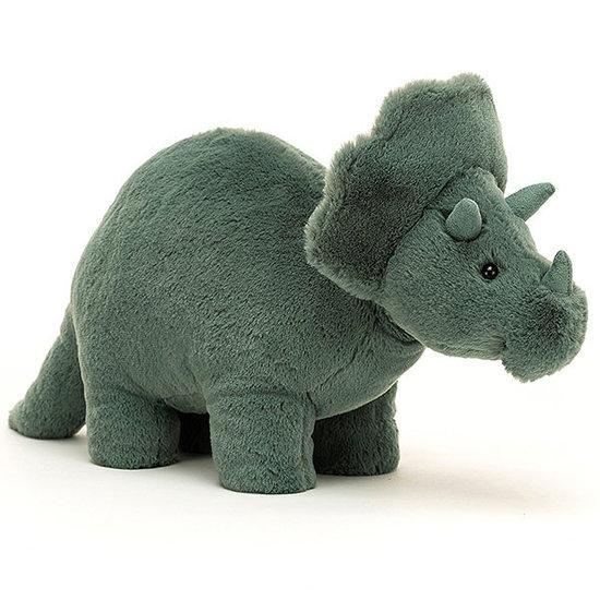 Jellycat Jellycat knuffel dino Fossilly Triceratops