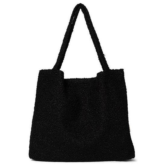 Studio Noos Studio Noos Mom-bag Bouclé Black