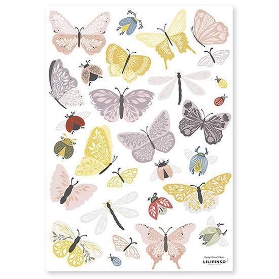 Lilipinso Lilipinso wall stickers Countryside Butterflies