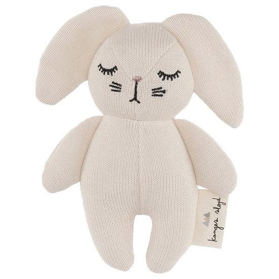 Konges Slojd Rattle Mini Rabbit Off White - Konges Sløjd