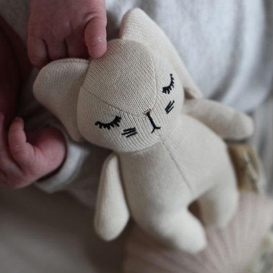 Konges Slojd Rammelaar Mini Rabbit Off White - Konges Sløjd