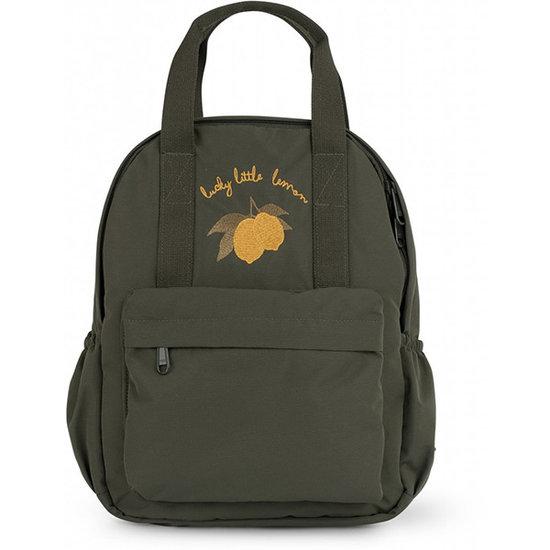 Konges Slojd Konges Slojd Loma backpack Mini Moss Grey