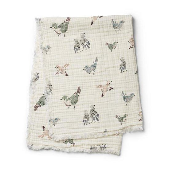 Elodie Details Elodie Details Soft cotton blanket Feathered Friends