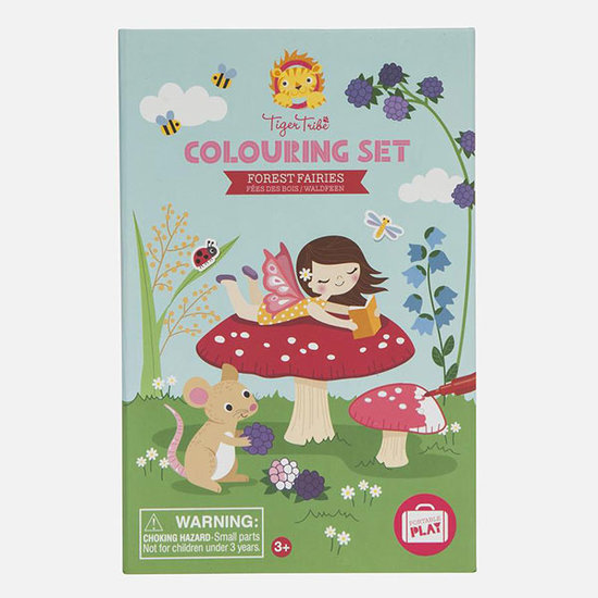 Tiger Tribe Tiger Tribe colouring set - Forest Fairies
