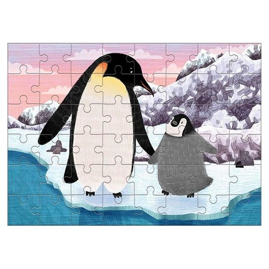 Mudpuppy Mudpuppy mini puzzel keizerspinguïn 48st