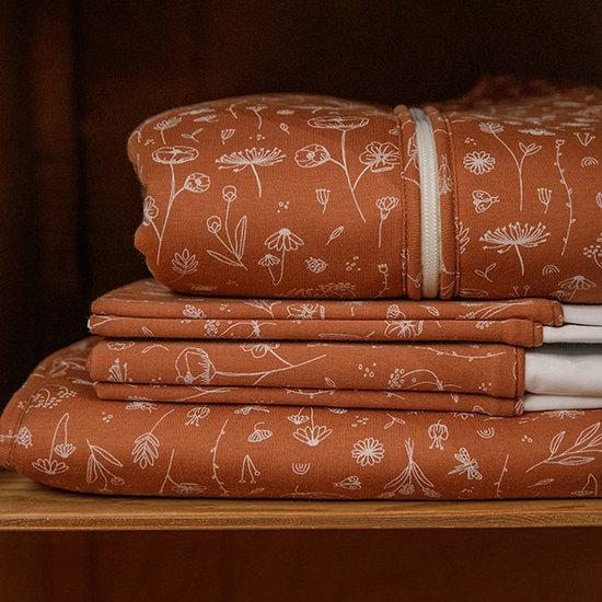 Little Dutch Little Dutch bandana slab - Wild Flower Rust