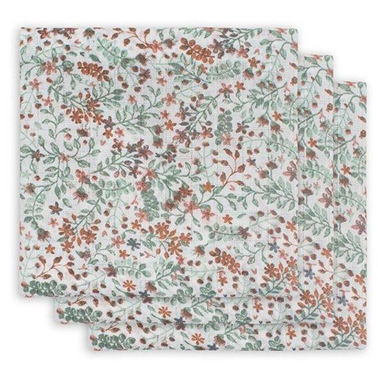 Jollein Jollein hydrofiele doek 70cm Bloom 3pack