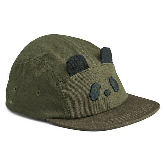 Liewood Liewood Rory cap - Panda hunter green