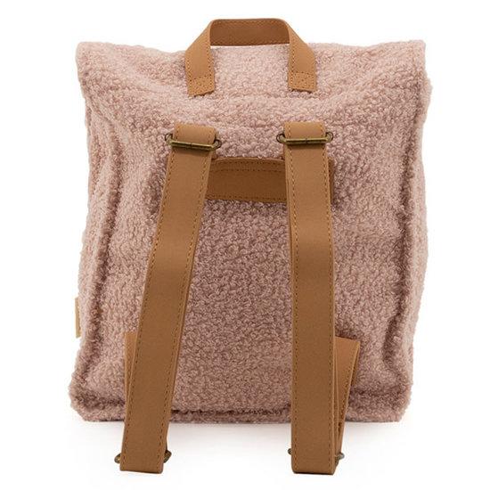 Nanami Nanami teddy rugzak - soft pink