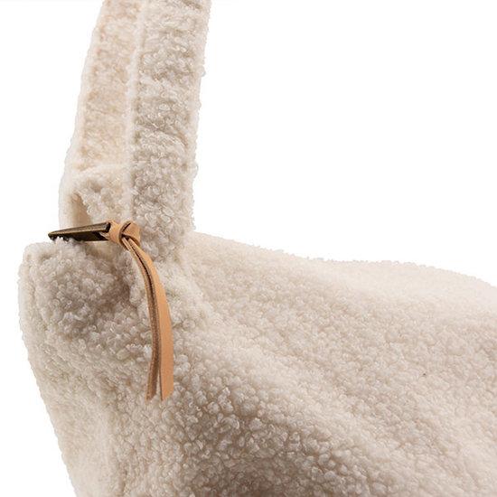 Nanami Nanami lifestyle bag teddy off-white