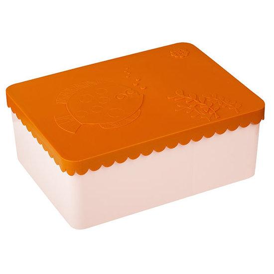 Blafre Lunch box sea life orange-light pink - Blafre