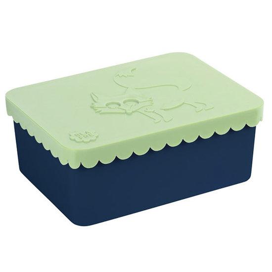Blafre Lunch box fox mint-navy - Blafre