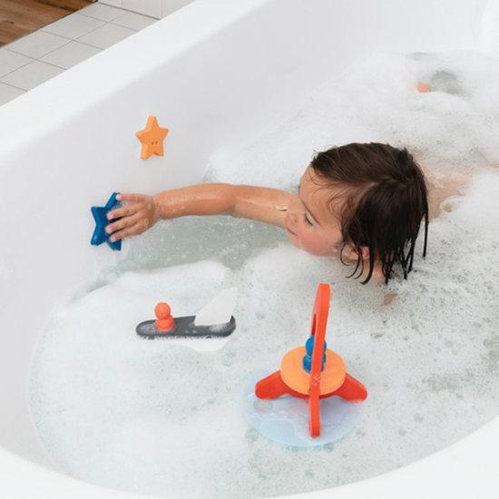 Quut Bath toy bath puzzle To the moon & back - Quutopia
