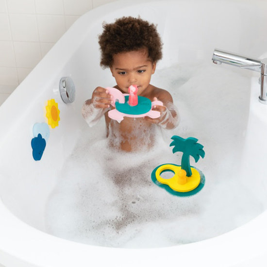 Quut Bath toy bath puzzle Treasure island - Quutopia