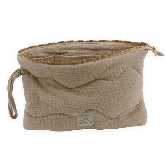 Nanami Nanami clutch - pouch naturel